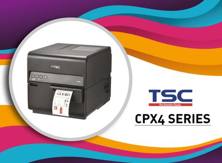 CPX4, la prima stampante di etichette a colori TSC