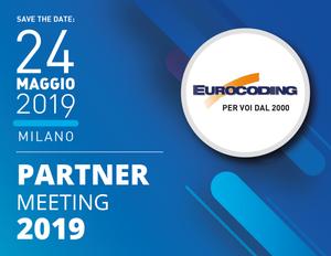 Eurocoding Partner Meeting Maggio 2019 Milano