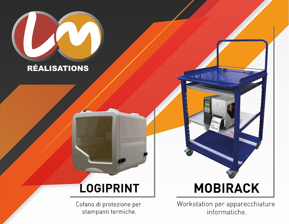 Eurocoding LM Réalisation Mobirack Logiprint