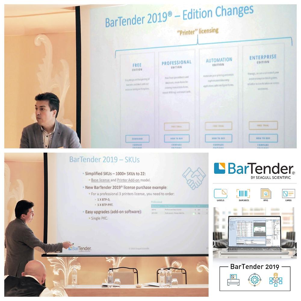 Eurocoding Partner Meeting 2019 Bartender