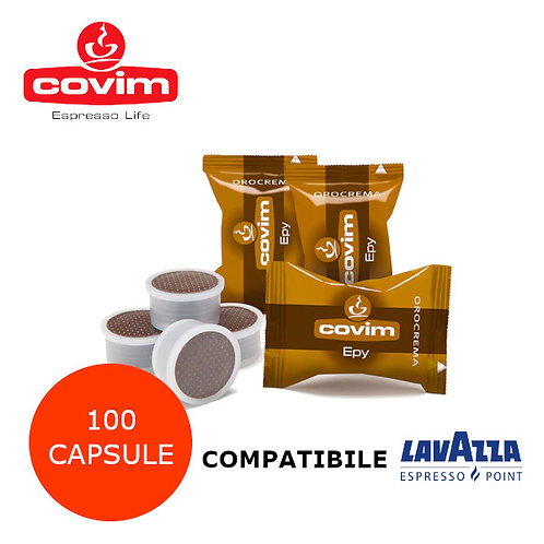 100 COVIM OROCREMA EPY-COMPATIBILE ESPRESSO POINT