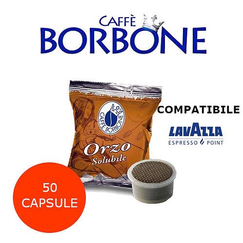50 caffè BORBONE ORZO SOLUBILE-COMPATIBILE ESPRESSO POINT