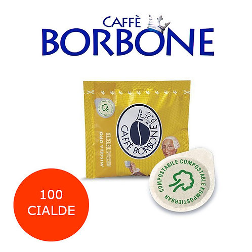 100 caffè BORBONE miscela ORO-CIALDE ESE 44mm