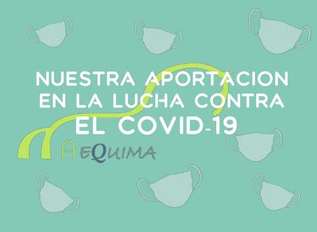 Aportación de Aequima en la lucha contra el COVID-19