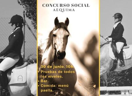 Concurso Social de Doma Clásica Aequima 2019