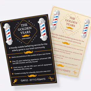 """""""The Golden Years"""" Brand Desing"""