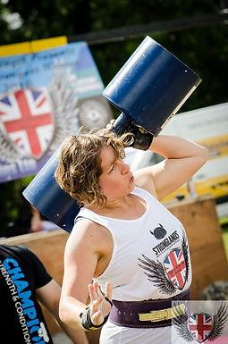 Zoe Thompson: Strong Woman