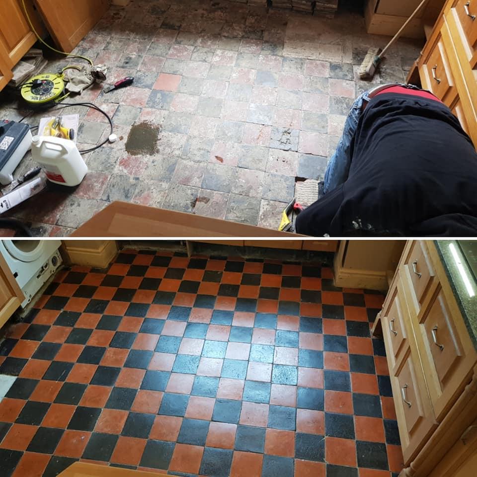 Quarry Tiles restoration