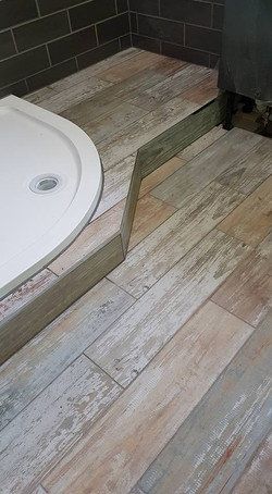 Shower room tiling in Barnsley
