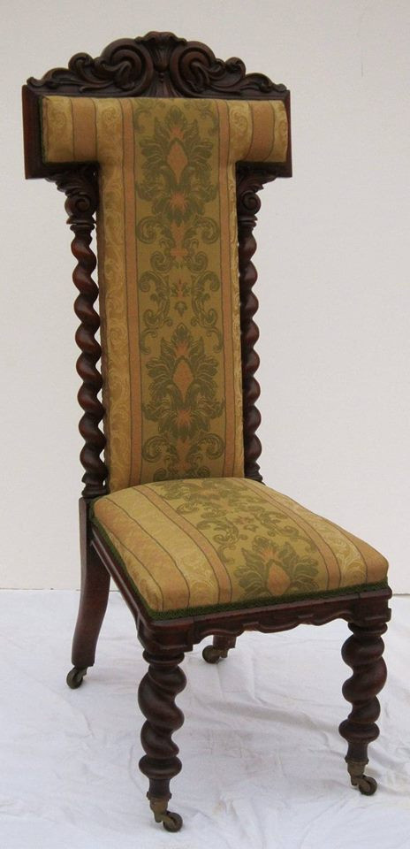 Prayer chair's  or Prie-Dieu date from Victorian times