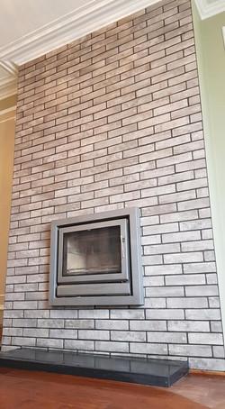 Chimney tiling