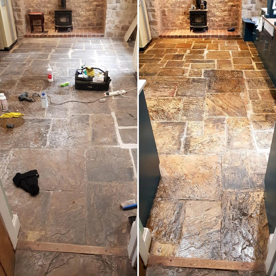 York Stone Floor Restoration