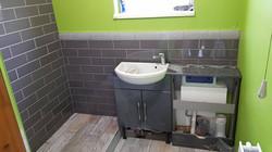 Shower room tiling