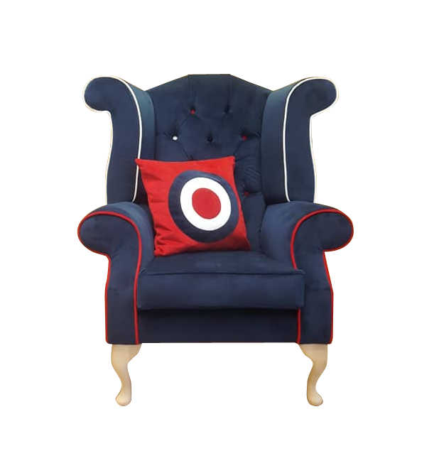 Mod Wingback Chair