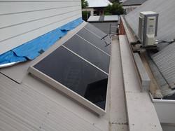 Glass top skylight