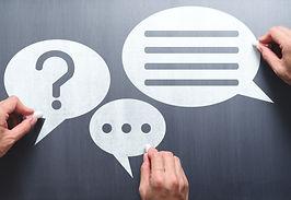 Business communication breakdown concept