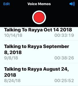 In voice memo's aan Rayya leert Elizabeth Gilbert ons te praten met onze verloren geliefden.