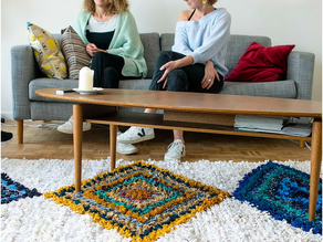 Friends, family and personal memories come together in Hendrikje's carpet