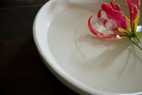 Designer Billie van Katwijk makes bone china from cremation ashes