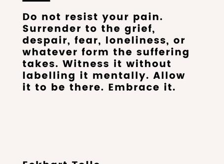 Grief. Embrace it.