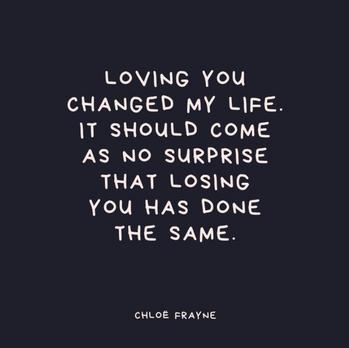 Loving. Losing.