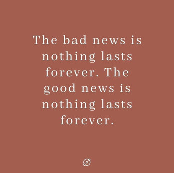 Good news, bad news.
