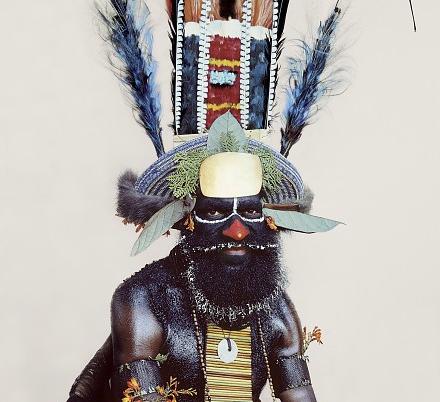 Man as art: New Guinea body decoration