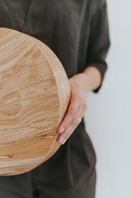 De houten urn van Nauwau