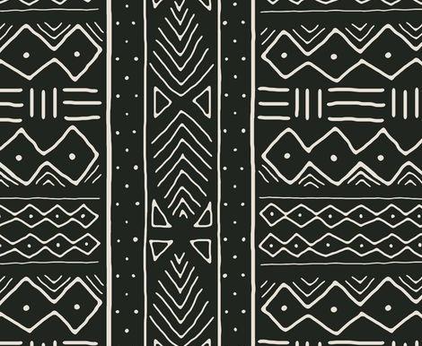 Malian Mud-cloth, a talking textile form Africa