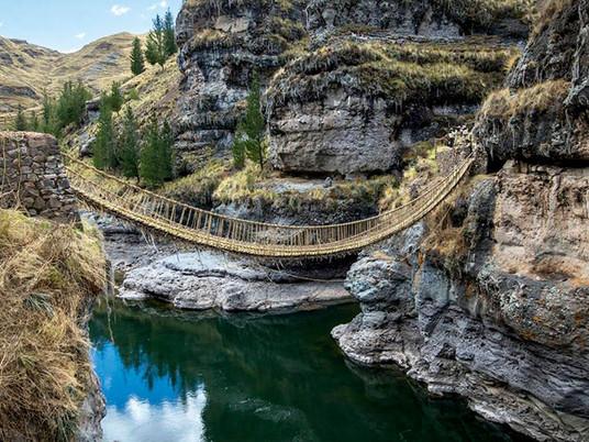 Weaving bridges, an ancient tradition