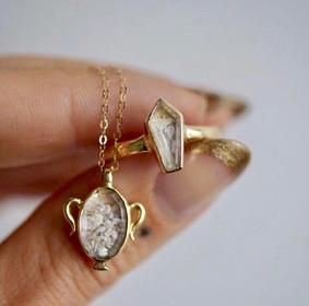 Goldengrove atelier jewelry by Margaret Cross in New York.