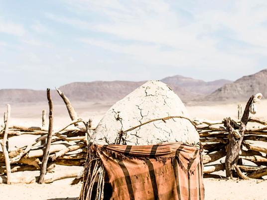 Kara Rosenlund in the desert of Namibia