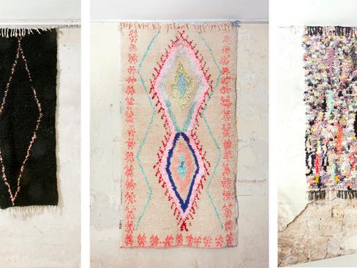 Circular carpets: Boucherouite