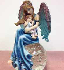 Mother With Child Divinity Fairy