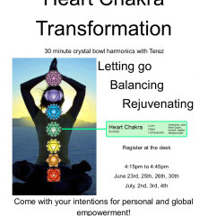 Heart Chakra Transformation with Terez