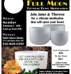 Full Moon Crystal Bowl Meditation