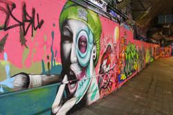 Location: Leake Street, London