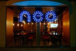 Neo Lights at night
