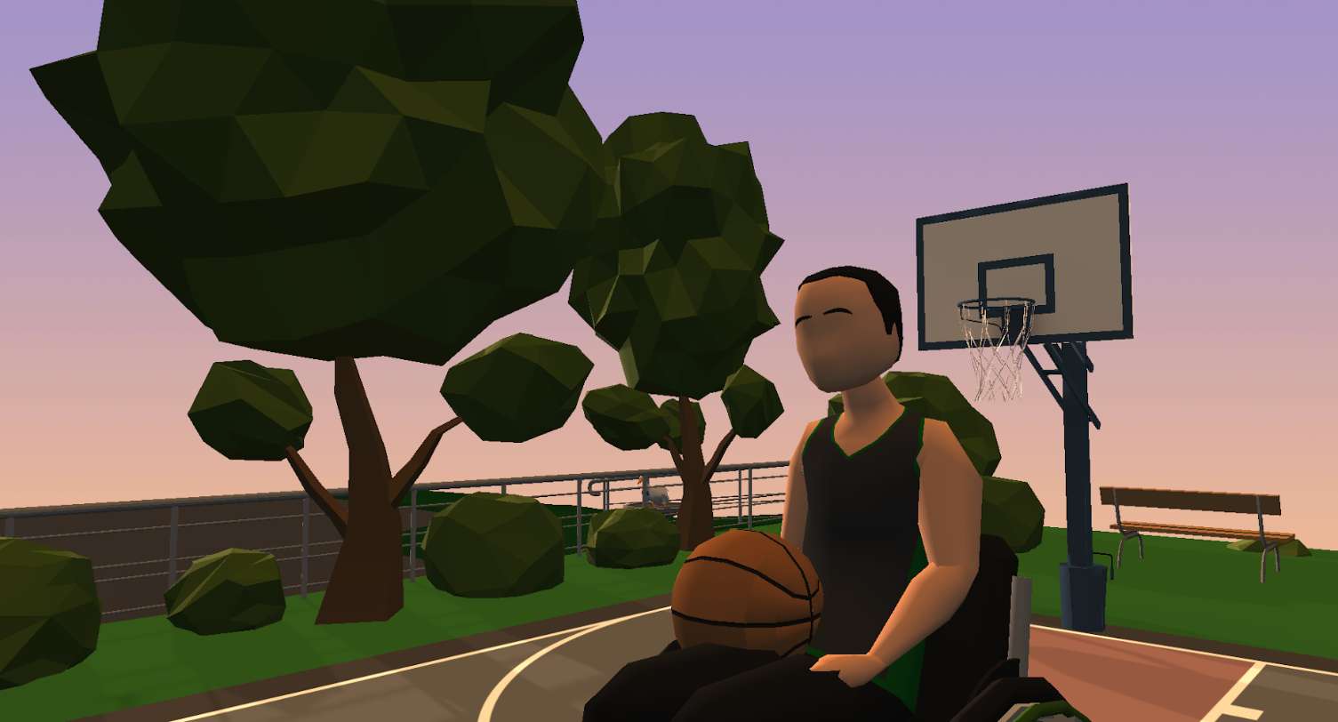 Joel and basketball