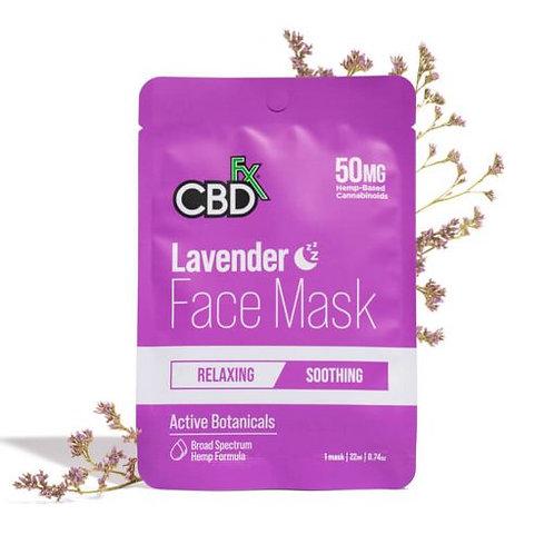 Lavender CBD Face Mask