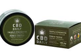 CBD Daily Triple Strength Pain Cream