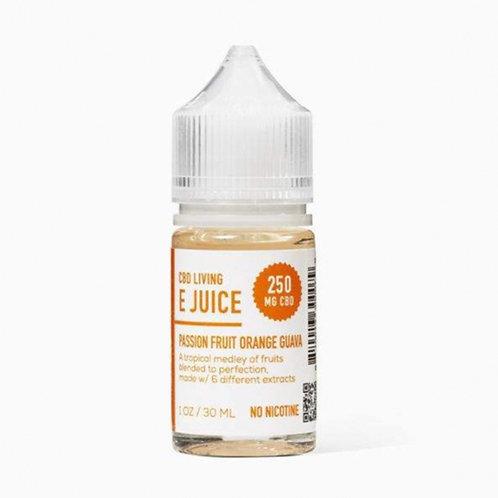CBD Living E-Juice 250mg – Passion Fruit Orange Guava