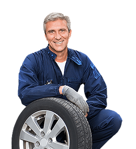 mobile tire service tech