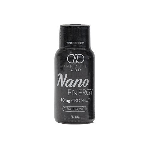 Infinite NANO Energy CBD Shot 10mg – Citrus Punch