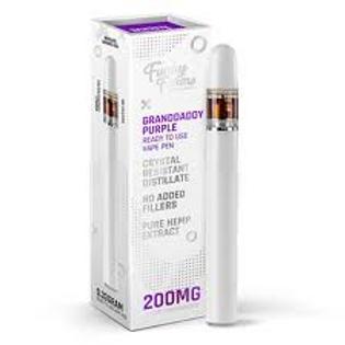 200mg CBG Disposable Vape Pen-Grandaddy Purple