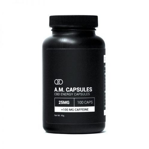 Infinite A.M. Capsules 25mg CBD + 100mg Caffeine (30 cap)