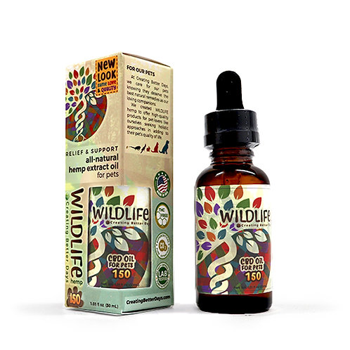 Creating Better Days Oil for Pets 150mg