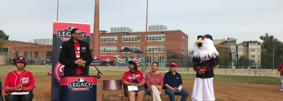 2019 MLB/Nationals Grant Ceremony & Service Project
