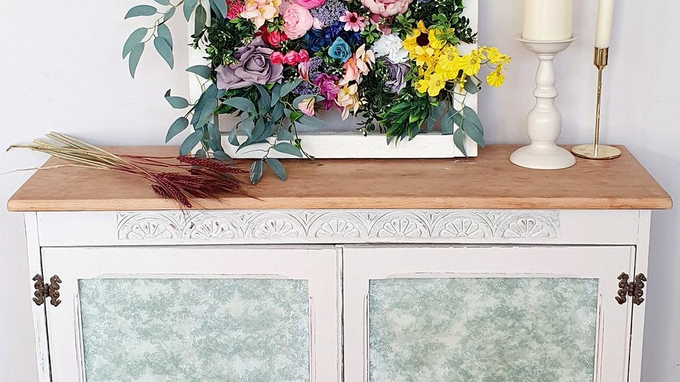 Fierce floral frame