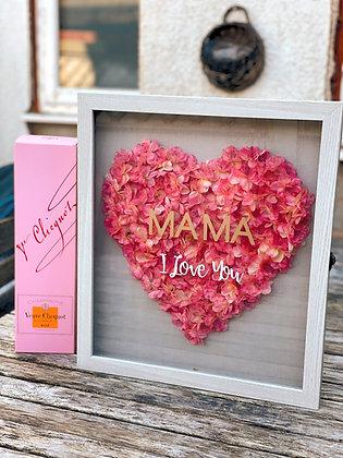 Heart box frame